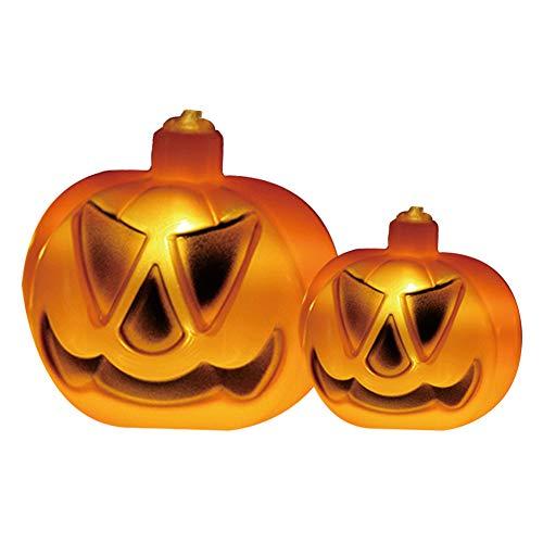Pengpengran Halloween Pumpkin Light, 10 Pumpkin Lights, 2.3 Meters, Suitable for Lawn, Garden, Christmas Decoration -