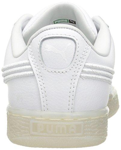Puma Basket Classic Badge Iced Fashion Sneaker Puma Wit