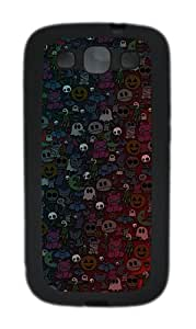 Samsung Galaxy S3 I9300 Cases & Covers Halloween Monsters Custom TPU Soft Case Cover Protector for Samsung Galaxy S3 I9300 Black