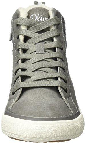 lt 26208 S oliver Femme Grey Hautes Gris Baskets WRT4TFqw