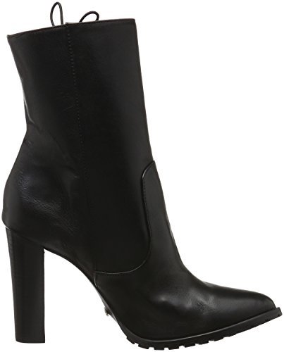 SCHUTZ New Navy Lace Up - Botas Mujer Negro