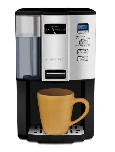 Cuisinart Coffee-on-Demand Automatic Programmable Coffeemaker, 12 Cup Removable Double Walled Coffee and Water Reservoir, with Dispensing Lever, and Auto Brew and 1-4 Cup Brewing, with Auto Clean Feature, Permanent Gold Tone and Charcoal Filter Included by CUISINART