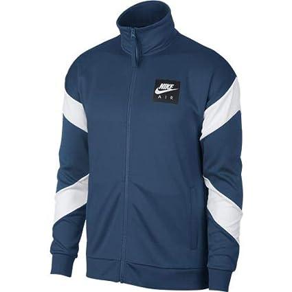 Nike Sportswear Chaqueta, Hombre, White/Blue Force, 2XL: Amazon.es ...