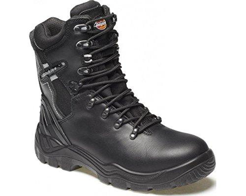 Dickies FD23376–9Quebec sfoderato scarpa di sicurezza, taglia 9, nero