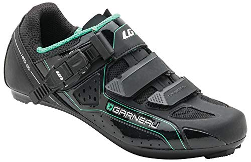 Louis Garneau Women's Cristal Bike Shoes, Black, US (8), EU (39)