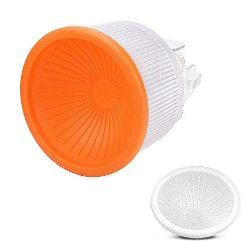 D&F Universal Lambency Flash Diffuser + White /Orange Cover Set for Flash Speedlite Light Sphere for Canon Speedlite 550EX / 580EX /580EX II or similar, Sony F58 / DI866, Nikon SB900