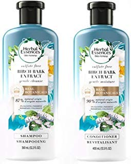 Royal Botanic Gardens Birch Bark Extract Natural Shampoo And Conditioner For Daily Use By Herbal ()