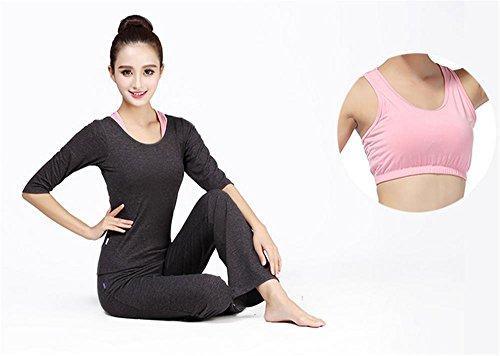 yoga de salle vêtements gym black de confortables sport femme Tenue pour de F5Xfxw