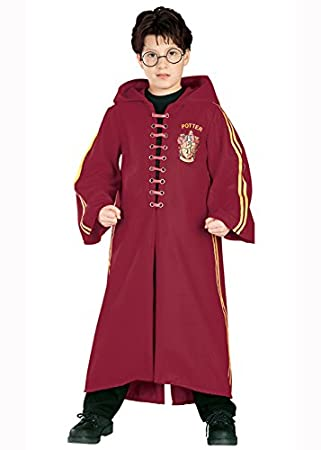 Niños lujo Harry Potter Quidditch traje Large 8-10 years: Amazon ...