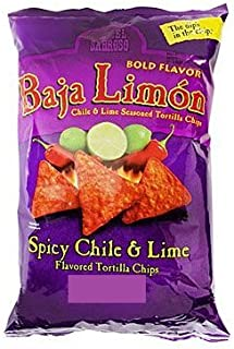 amazon com el sabroso baja limon chile lime flavored tortilla rh amazon com