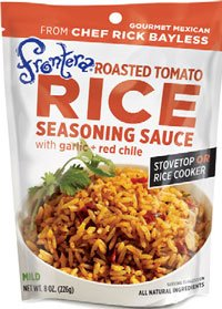 Frontera Roasted Tomatoes (Frontera Roasted Tomato Rice Seasoning Sauce, 8 Ounce (Pack of 6))