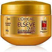 Creme de Tratamento Óleo Extraordinário Nutrição Intensa Elseve 300 G, L'Oréal P