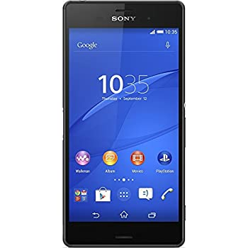 "SONY XPERIA Z3 D6603 LTE 16GB 5.2"" GSM Unlocked (Black) - International Version No Warranty"