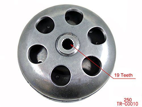 Clutch Assembly for GY6 250 250cc 4-Stroke Moped Scooter Go Kart Dune Buggy Roketa Sunl Taotao NST