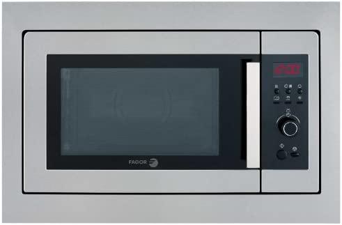 Fagor MWB-23A EG X, 220-240 V, 50 Hz, Acero inoxidable, 592 x 390 x 382 mm, 330 x 205 x 330 mm - Microondas