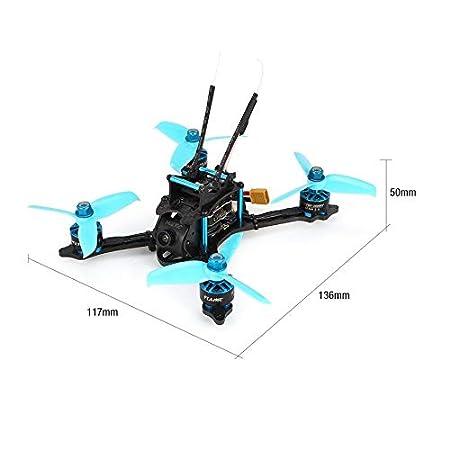 HoganeyVan HGLRC XJB-145MM Drone de Carreras FPV con OSD Omnibus ...