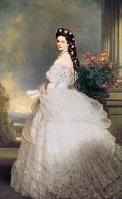 Elizabeth (1837-98), Empress of Austria,.. - Art Print - Medium - 28x35cm