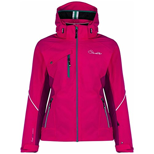 Dare 2b Women's Etched Lines Waterproof Insulated Jacket, Duchess/Berry...
