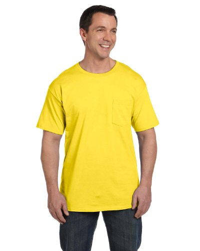 Hanes mens BeefyT 100% Cotton TShirt with ()