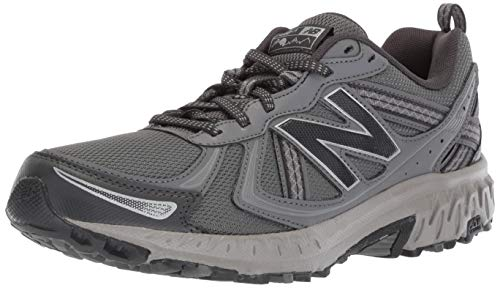 New Balance Men's 410v5 Cushioning Trail Running Shoe, Castlerock/Phantom, 10.5 D US
