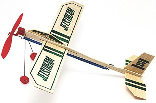 Jetstream Balsa Wood Glider Plane