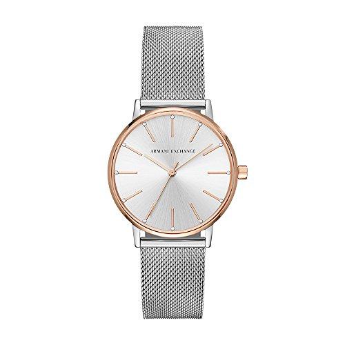 Armani Exchange Women's Dress Silver Watch AX5537