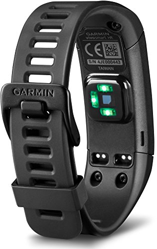 Garmin vívosmart HR Activity Tracker Regular Fit – Black