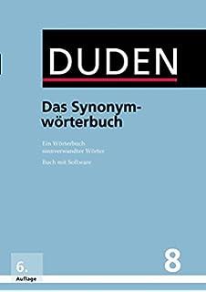 Duden Das Wörterbuch Der Synonyme 100000 Synonyme Für Alltag Und