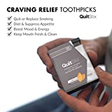 Craving Relief Toothpicks with Activating Tingle to Replace Cigarettes, Quit Smoking, Vaping, Keeps Mouth Clean & Fresh, Perfect for Smokers & Non-Smokers