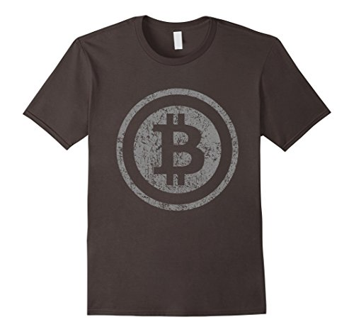 Vintage Bitcoin T-Shirt For Crypto Currency Traders