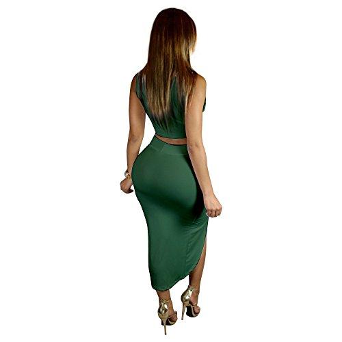 JOTHIN - Falda - trapecio - para mujer Verde