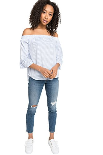 Microfiber Blouse - Ardene Women's - Shirts & Blouses - Microfiber Off Shoulder Top Extra Large -(8A-AP01550)