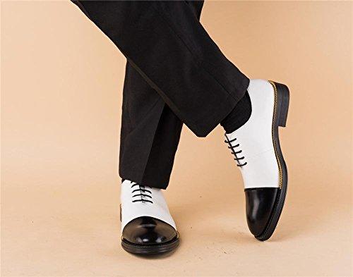 Pelle Nozze Attivit Uomini Scarpe Oxfords XIE Formale q71Tx