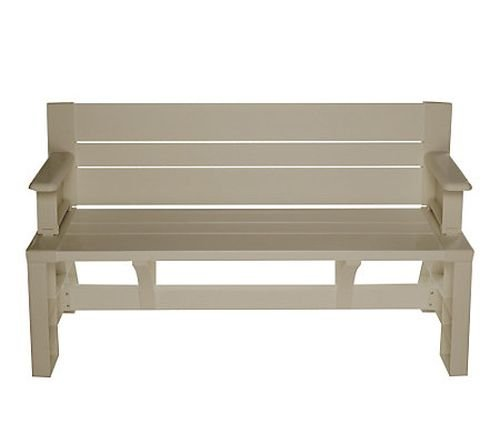 Convert-a-bench Ultra Ii Outdoor 2-in-1 Bench-to-table W/5 Year LMW - Tan