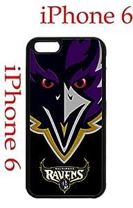 Baltimore Ravens iPhone 6 Plus 5.5 Case Hard Silicone Case