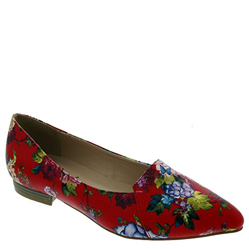 Bellini Flora Fw Womens Slip On Red-floral