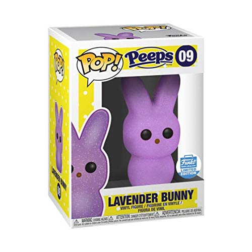 FunkoPop Peeps Lavender Bunny Limited Edition w/Hard Stack