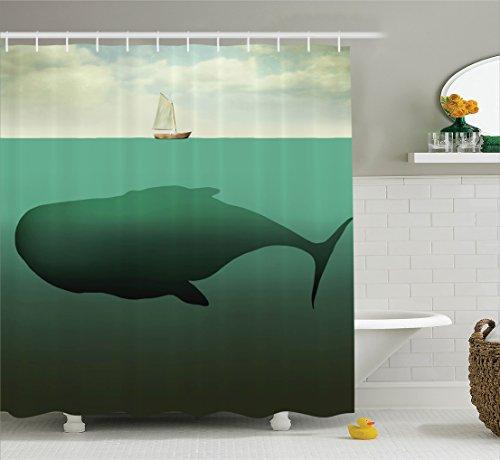 whale shower curtain - 6