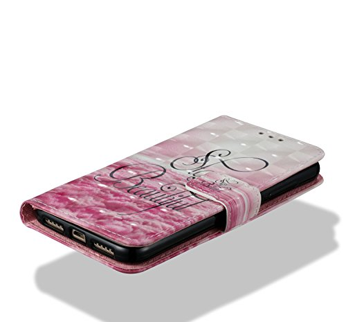 Para Xiaomi Redmi 4X funda, Ecoway pintura 3D caja del teléfono de la PU patrón en relieve ,Función de Soporte Billetera con Tapa para Tarjetas correa - Hong Daddy Hermosa