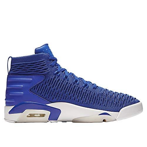 Jordan Nike Men's Flyknit Elevation 23 Basketball Shoe 10.5 Blue