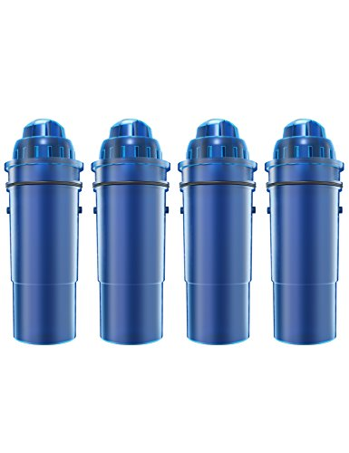 AQUACREST Replacement for Pur CRF-950Z Pitcher Water Filter (Pack of 4) by AQUACREST