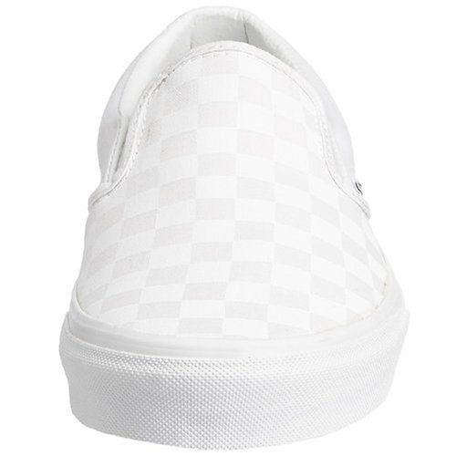 Vans Classic Slip-On - Mocasines unisex Blanco (Checkerboard True White)