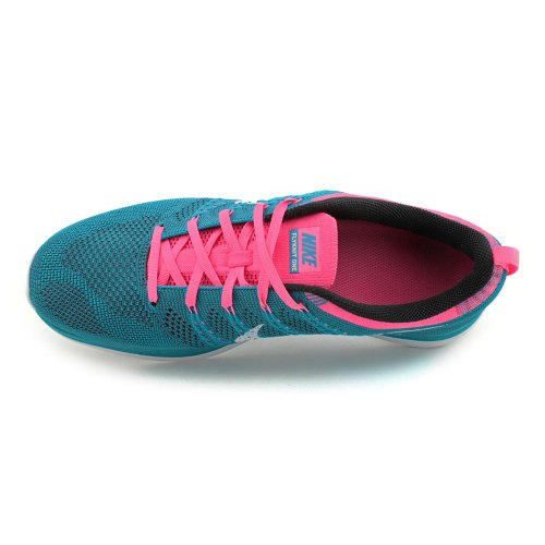 Nike Mens Flyknit One, Neo Turchese / Bianco-sqaudron Blu-rosa Flash, 10,5 M Us