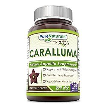 Pure Naturals High Potency Caralluma Fimbriata, 800 Mg, 120 Count