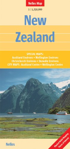 New Zealand 1 : 1 250 000 (Nelles Maps)