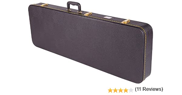 Kinsman CBG6 - Estuche para bajo (rectangular), color negro: Amazon.es: Instrumentos musicales