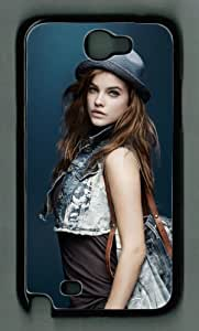 icasepersonalized Personalized Protective Case for Samsung Galaxy Note II N7100 Case - Barbara Palvin by runtopwell