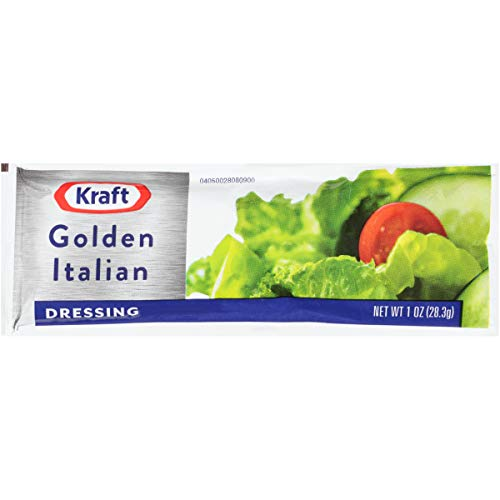 - Kraft Golden Italian Dressing (1 oz Packets, Pack of 100)