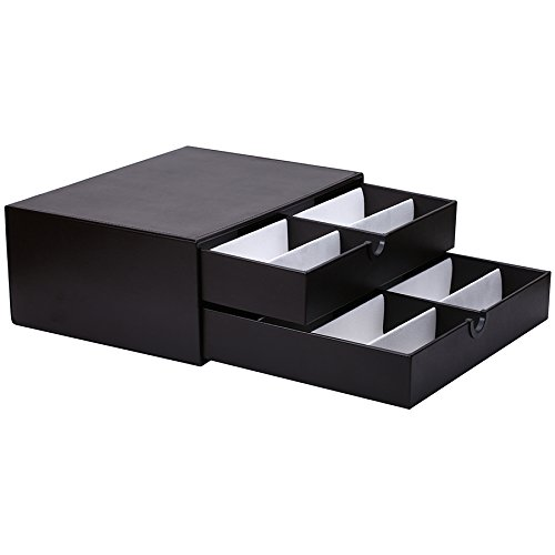 Edge I -Wear Collection 16 Piece Sunglass Eyewear Display Case Tray D-17ABRN-16 (Collection Sunglasses)