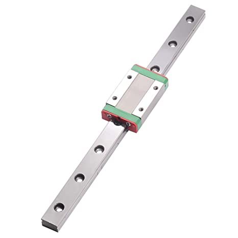 CNC part MR12 12mm linear rail guide MGN12 length 200mm with mini MGN12H  Block